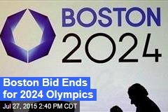 Boston Bid Ends for 2024 Olympics