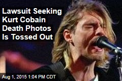 Lawsuit Seeking Kurt Cobain Death Photos Is Tossed Out