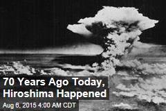 Japan Marks 70 Years Since Hiroshima