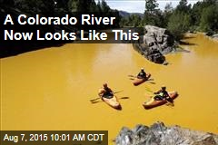 A Colorado River Now Looks Like This