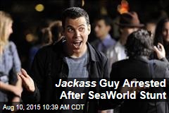 Jackass Guy Arrested After SeaWorld Stunt