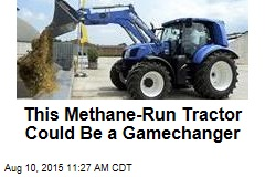 This Methane-Run Tractor Could Be a Gamechanger