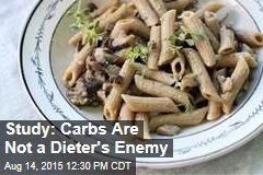 Study: Carbs Are Not a Dieter's Enemy