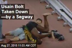 Usain Bolt Taken Down —by a Segway