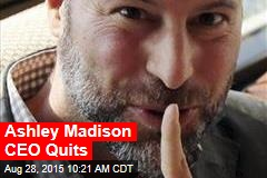 Ashley Madison CEO Quits