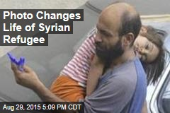 Photo Changes Life of Syrian Refugee