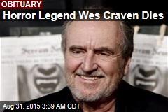 Horror Legend Wes Craven Dies