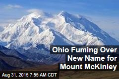 Ohio Fuming Over New Name for Mount McKinley