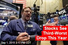 Stocks See Third-Worst Drop This Year