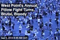 West Point's Annual Pillow Fight Turns Brutal, Bloody