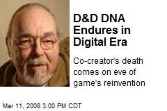 D&D DNA Endures in Digital Era