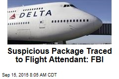 Suspicious Package Traced to Flight Attendant: FBI