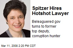 Spitzer Hires Hotshot Lawyer