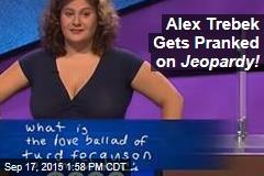 Alex Trebek Gets Pranked on Jeopardy!