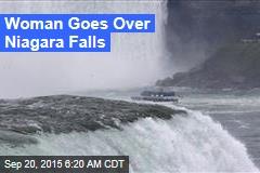 Woman Goes Over Niagara Falls