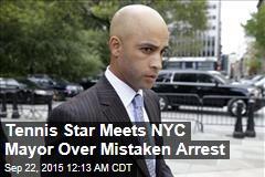 Blake Meets NYC Mayor Over Mistaken Arrest