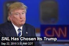 SNL Has Chosen Its Trump