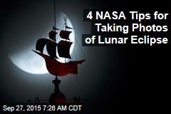 4 NASA Tips for Taking Photos of Lunar Eclipse