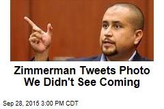 Zimmerman Tweets Photo We Didn't See Coming