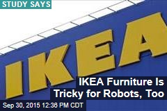 IKEA Furniture Is Tricky for Robots, Too