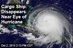 Cargo Ship Disappears Near Eye of Hurricane