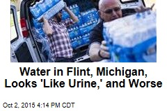 Water in Flint, Michigan, Looks 'Like Urine,' and Worse