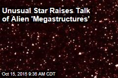 Unusual Star Raises Talk of Alien 'Megastructures'