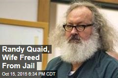 Randy Quaid, Wife Freed From Jail