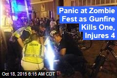 Panic at Zombie Fest as Gunfire Kills One, Injures 4