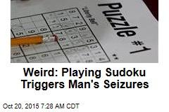 Puzzler: Avalanche Survivor Suffers Sudoku Seizures