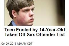 Judge Relents, Keeps Teen Off Sex Offender List