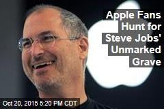 Apple Fans Hunt for Steve Jobs' Unmarked Grave