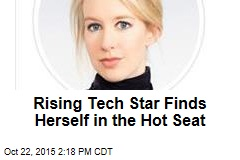 Rising Tech Star Finds Herself in the Hot Seat