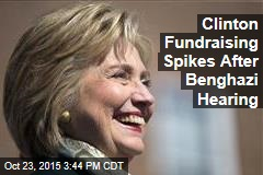 Clinton Fundraising Spikes After Benghazi Hearing