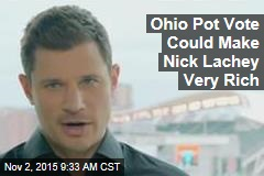 Ohio Pot Vote Could Make Nick Lachey Very Rich