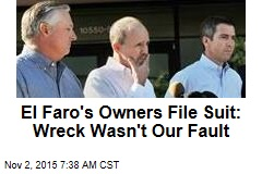 El Faro's Owners File Suit: Wreck Wasn't Our Fault