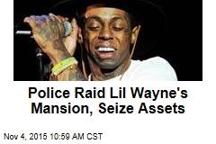 Police Raid Lil Wayne's Mansion, Seize Assets