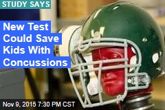 New Test Can Detect Concussions in Children
