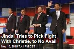 Jindal Tries to Pick Fight With Christie, to No Avail