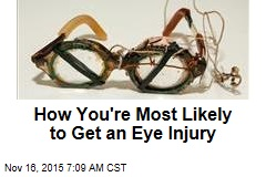 How You're Most Likely to Get an Eye Injury
