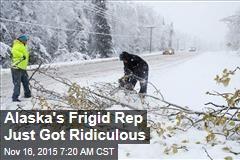 Alaska's Frigid Rep Just Got Ridiculous