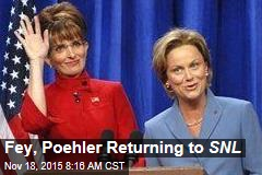 Fey, Poehler Returning to SNL
