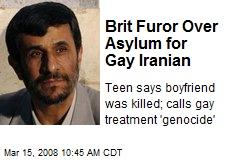 Brit Furor Over Asylum for Gay Iranian