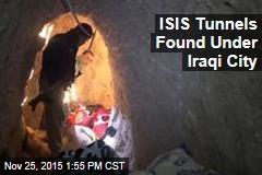 ISIS Tunnels Found Under Iraqi City