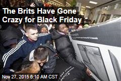 The Brits Have Gone Crazy for Black Friday