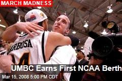UMBC Earns First NCAA Berth