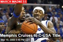 Memphis Cruises to C-USA Title