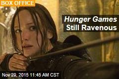 Hunger Games Still Ravenous
