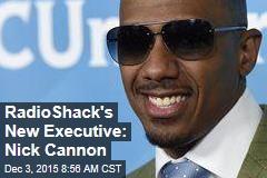 RadioShack's New Executive: Nick Cannon