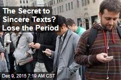 The Secret to Sincere Texts? Exclamations, Not Periods